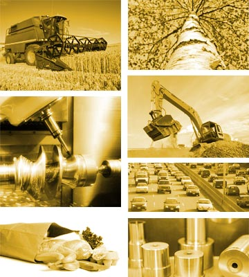Collage of Industries Served
